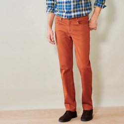 Pantalon twill spécial embonpoint coupe 5 poches