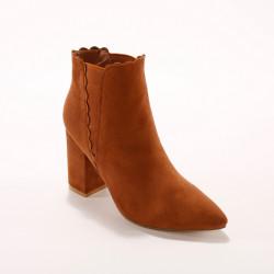 """Boots """"écailles"""" élastiquées"""