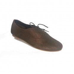 derbies plat cuir