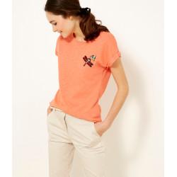 Tee-shirt manches courtes 100% coton