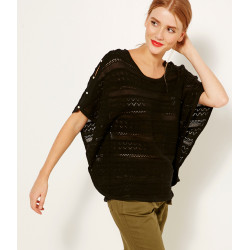 Pull manches papillon