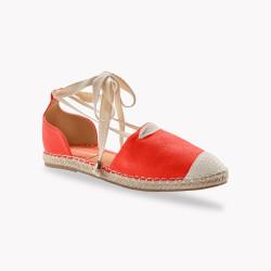 Sandales corde lacées
