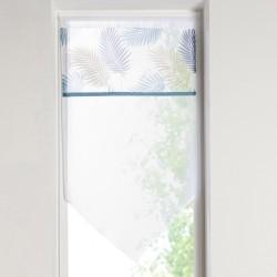 Vitrage pointe parement imprimé 45x160 cm