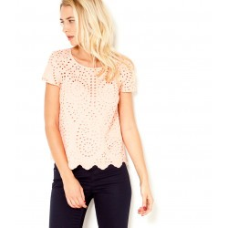 Blouse broderie anglaise 100% coton