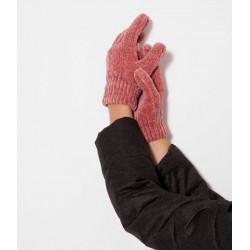 Gant laine chenille