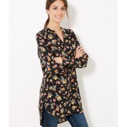 Chemise longue boutonnée