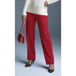 Pantalon droit affinant